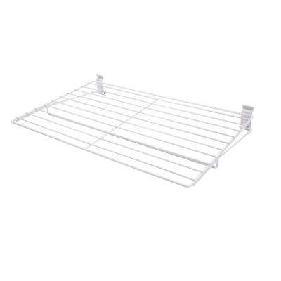 3.5 in. x 27.5 in. White Steel Extra Large All Purpose Shelf Bracket for Wire Shelving