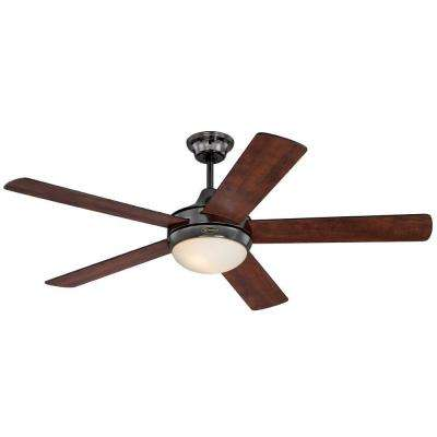 Zander 52 in. Gun Metal Indoor Ceiling Fan