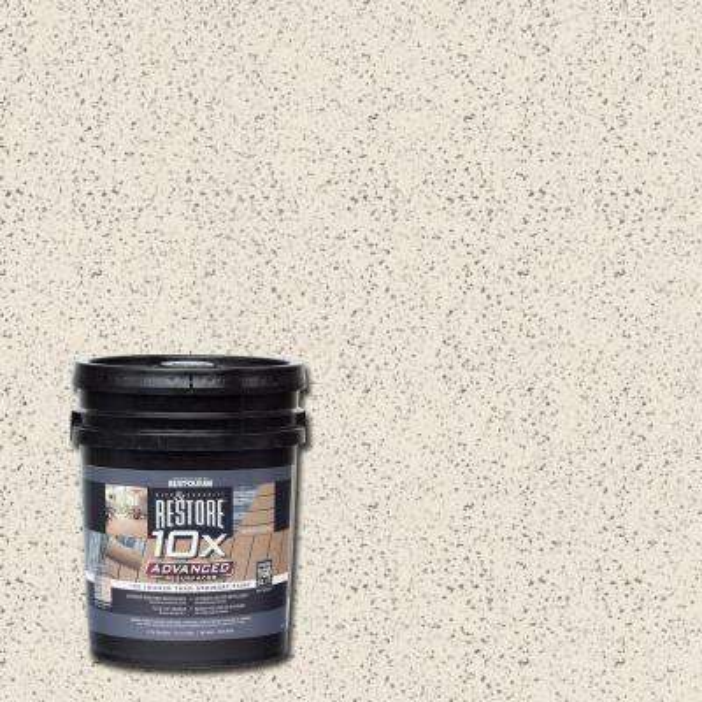 4 gal. 10X Advanced Linen Deck and Concrete Resurfacer