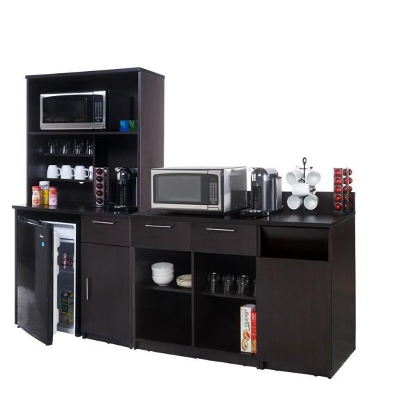 Breaktime Coffee Kitchen Espresso Sideboard with Lunch Break Room Functionality