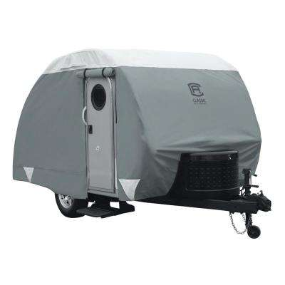 PolyPro III 150 in. L x 75 in. W x 75 in. H Teardrop Trailer Cover