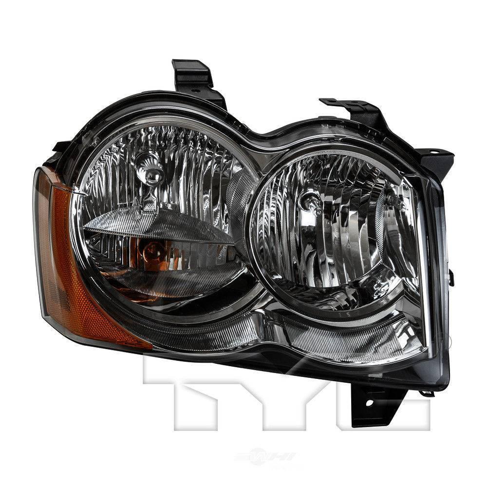 TYC 20-9019-00 Jeep Grand Cherokee Passenger Side Headlight Assembly