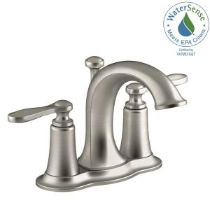 Kohler Linwood 4 In Centerset 2 Handle Water Saving