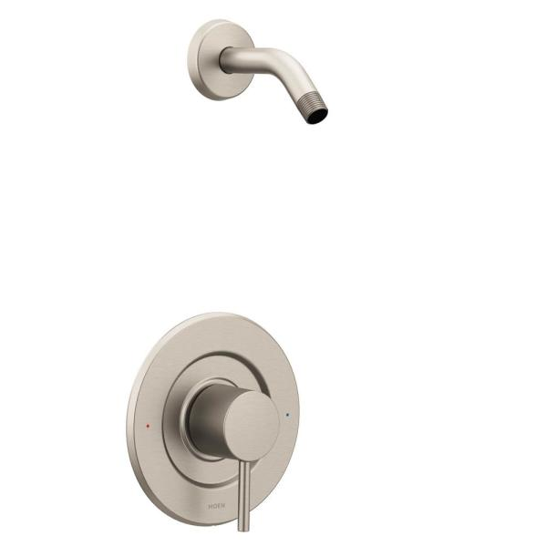 Align Single-Handle Posi-Temp Shower Faucet Trim Kit in Brushed Nickel (Shower Head and Valve Not Included)