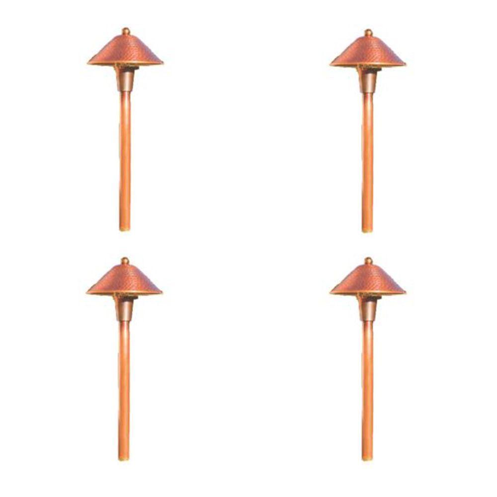 Illumine 1-Light 18-Watt Low Voltage Raw Copper Outdoor