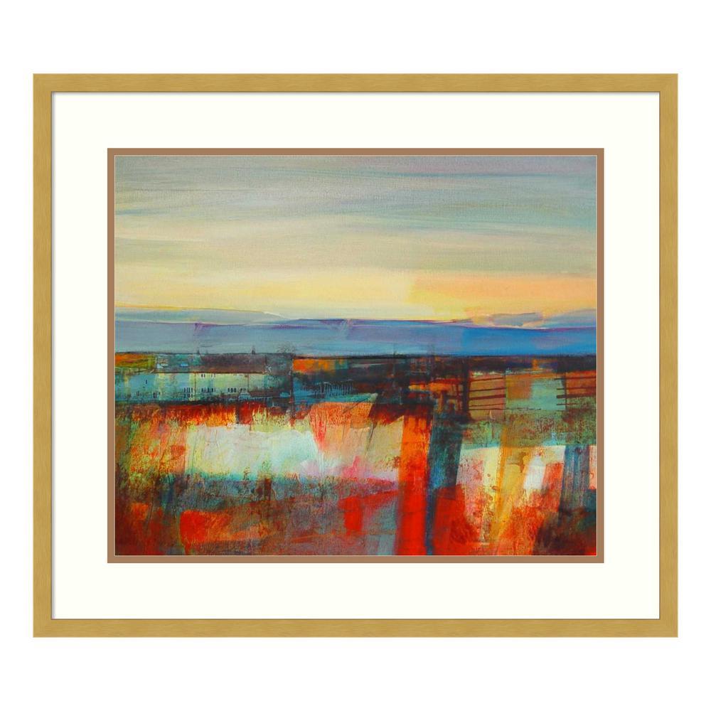 Amanti Art ''Early Morning Light-Wadsworth Moor'' by Kate Boyce Framed Wall