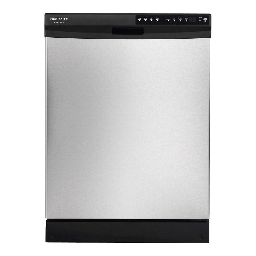 Frigidaire Gallery Front Control Dishwasher in Stainless Steel