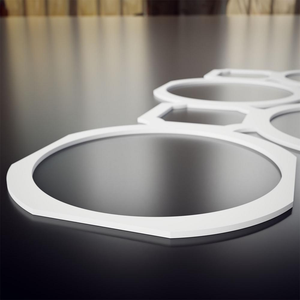 ELEGANT Design Paneelheizk/örper R/öhren 600x767mm Anthrazit Doppellagig Badezimmer//Wohnraum Horizontal Heizk/örper Seitenanschluss Badheizk/örper Radiator