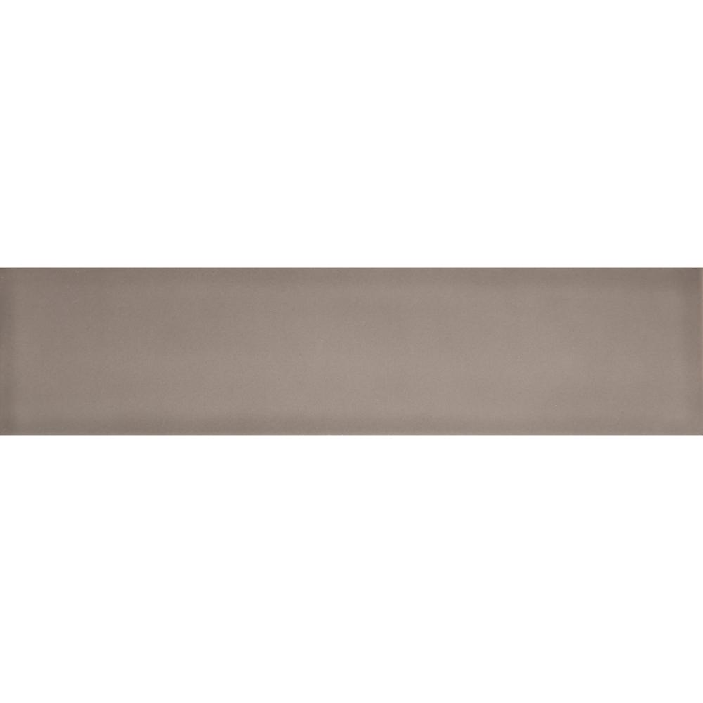 Brick ceramic tile tile the home depot vogue taupe matte 394 in x 1575 in ceramic wall tile 10775 sq dailygadgetfo Gallery