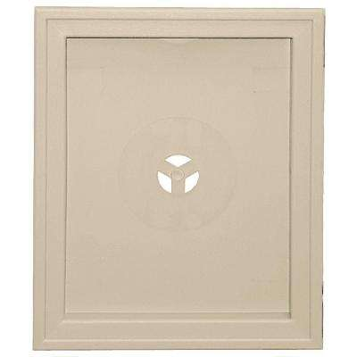 Large Recessed Mounting Block #049-Almond