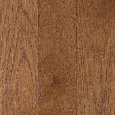 Franklin Tawny Oak 3/4 in. Thick x 3-1/4 in. Wide x Varying Length Solid Hardwood Flooring (17.6 sq. ft. / case)
