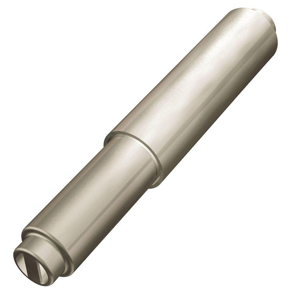 Mason Double Post Toilet Paper Holder Roller in Satin Nickel