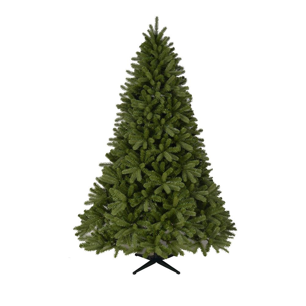 7.5 ft. Unlit Downswept Dennison Pine Artificial Christmas Tree