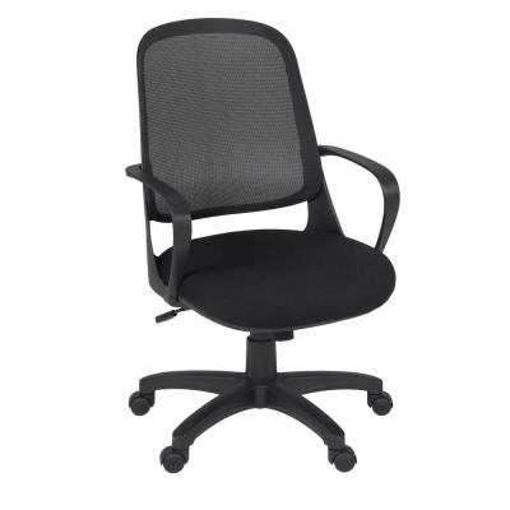 Agent Black Mesh Back Swivel Chair