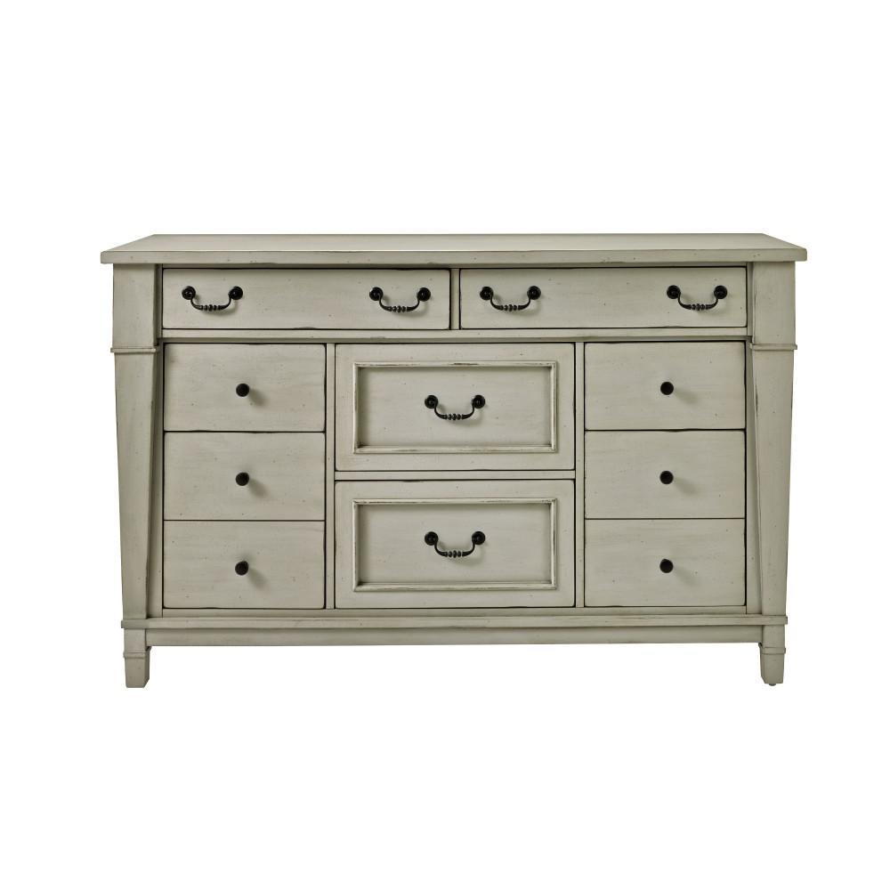 Home Decorators Collection Bridgeport 8 Drawer Antique: Unbranded Bridgeport 8-Drawer Antique Grey Dresser