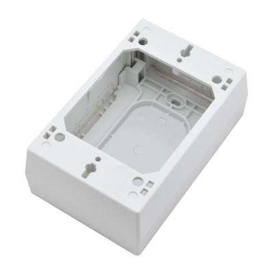 Non Metallic Wire Series 1-3/4 in. Raceway Device Box, White