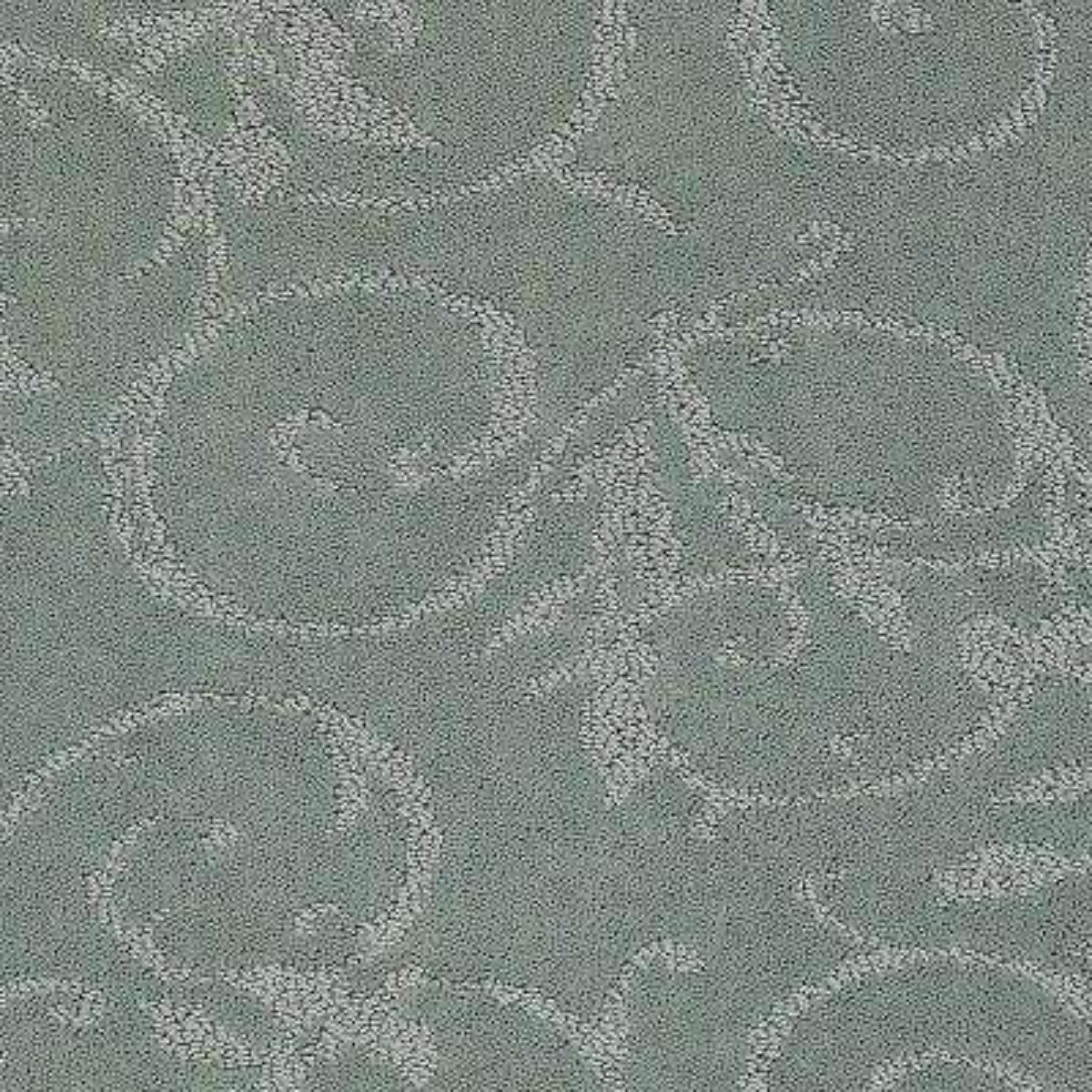 Carpet Sample - Cheriton - Color Clear Lake Pattern 8 in. x 8 in.