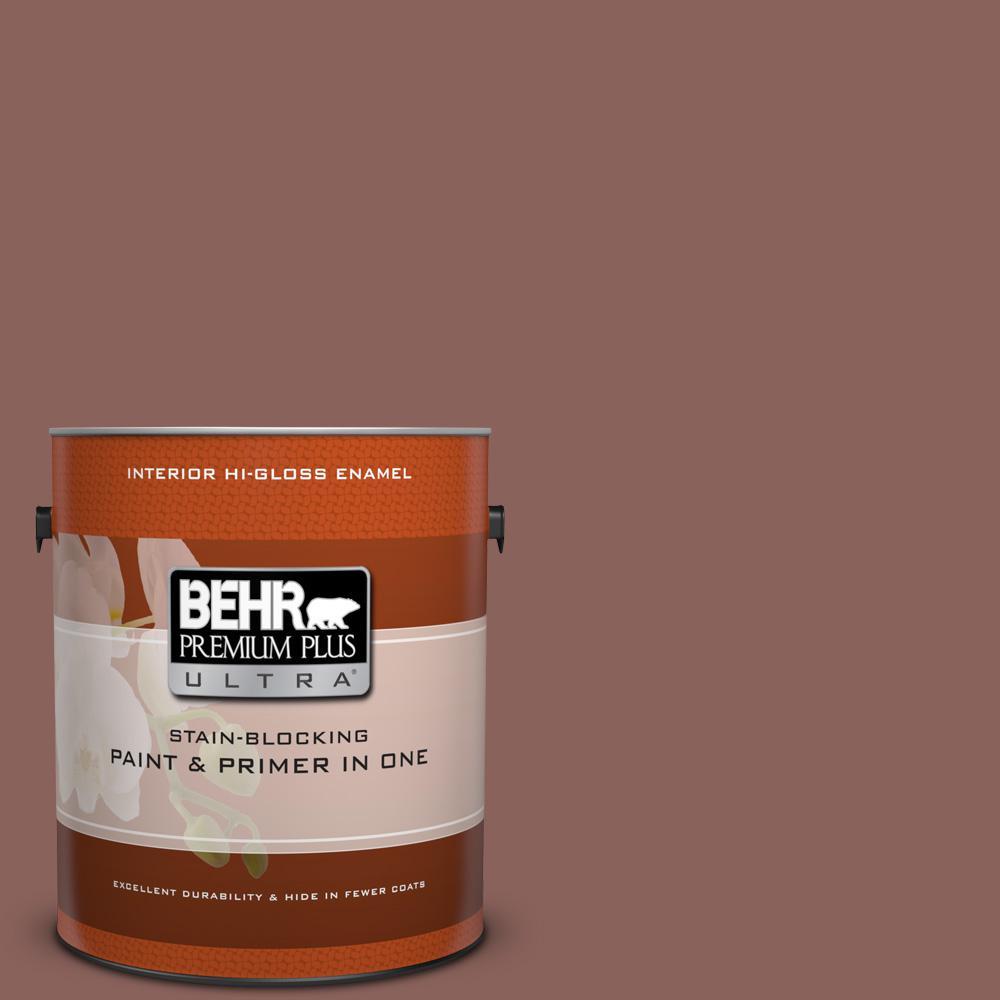 1 gal. #BXC-52 Natural Copper Hi-Gloss Enamel Interior Paint