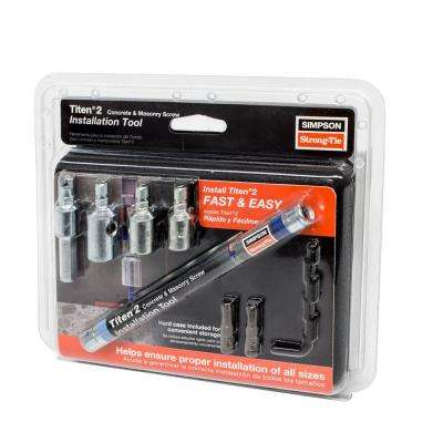 Titen Screw Installation Tool Kit