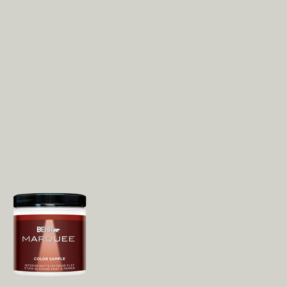 BEHR MARQUEE 8 oz. #N370-2 Eon Matte Interior/Exterior Paint and Primer in One Sample