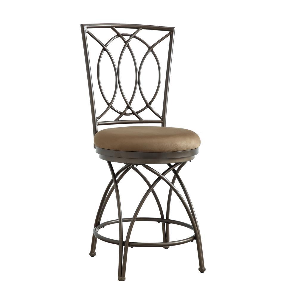 Astonishing American Heritage Bella 26 In Pepper Cushioned Bar Stool Inzonedesignstudio Interior Chair Design Inzonedesignstudiocom