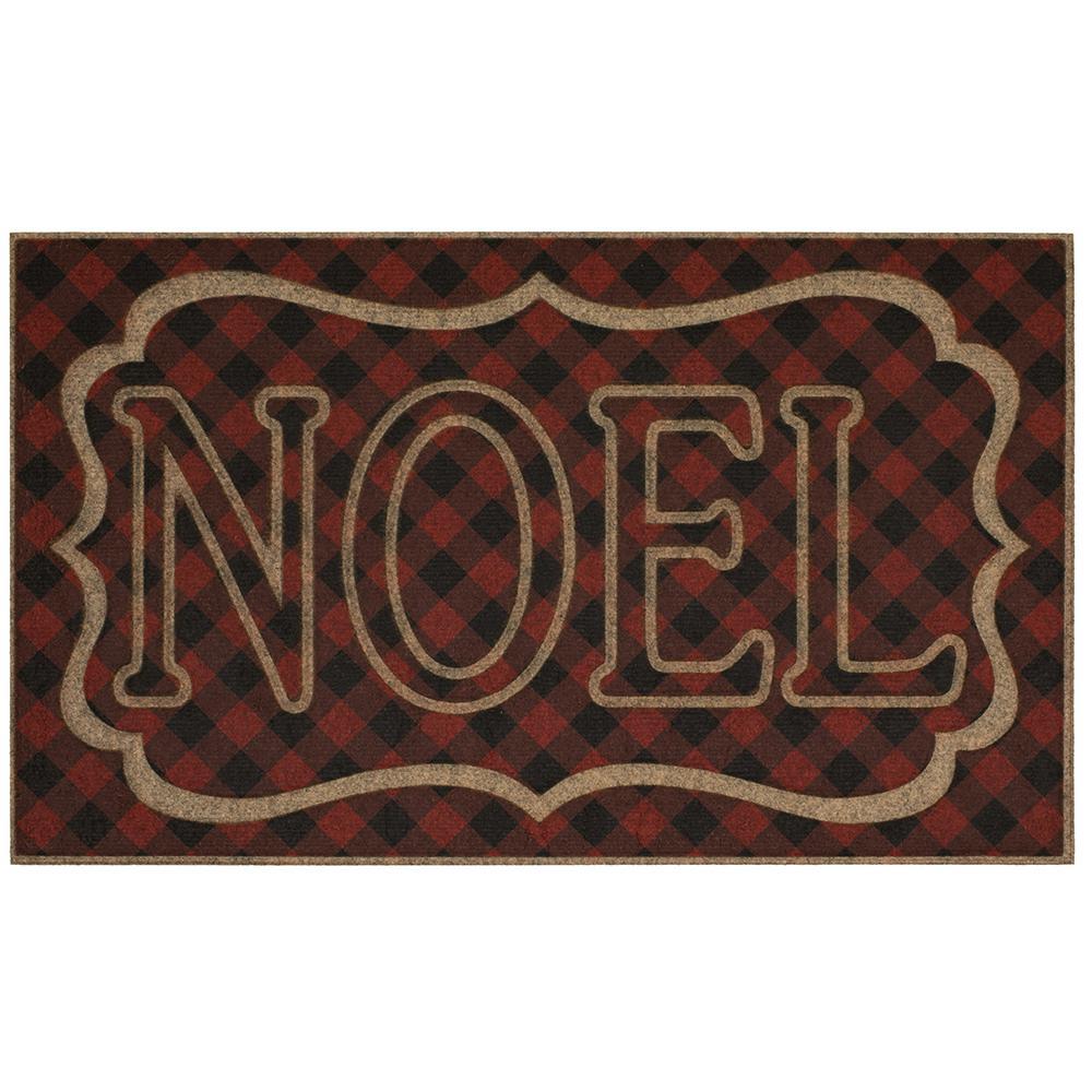 Noel 18 in. x 30 in. Impressions Door Mat