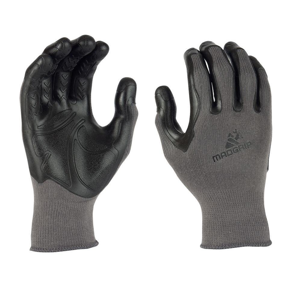 Mad Grip Pro Palm XX-Large Flex Glove in Grey/Black