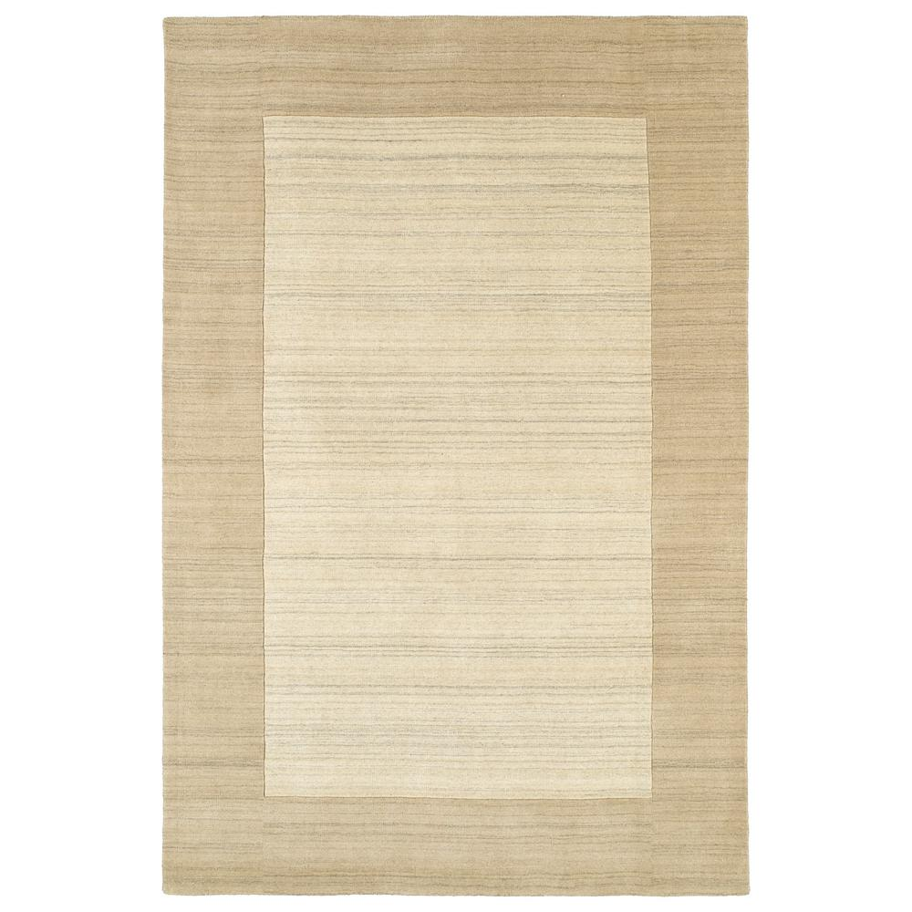 Natural harmony panorama tweed linen custom area rug with for Custom area rugs home depot