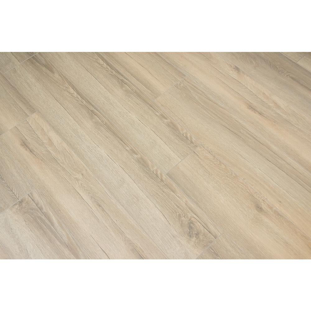Fostoria Oak 8mm Thick x 8.03 in. Wide x 47.64 in. Length Laminate Flooring (21.26 sq. ft. / case)