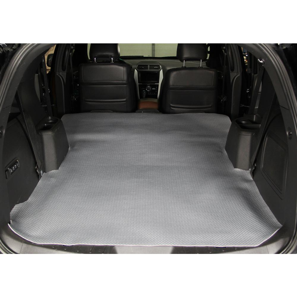 Diamond Plate Gray Heavy Duty 72 in. x 58 in. Cargo