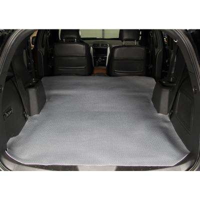 Diamond Plate Gray Heavy Duty 72 in. x 58 in. Cargo Liner