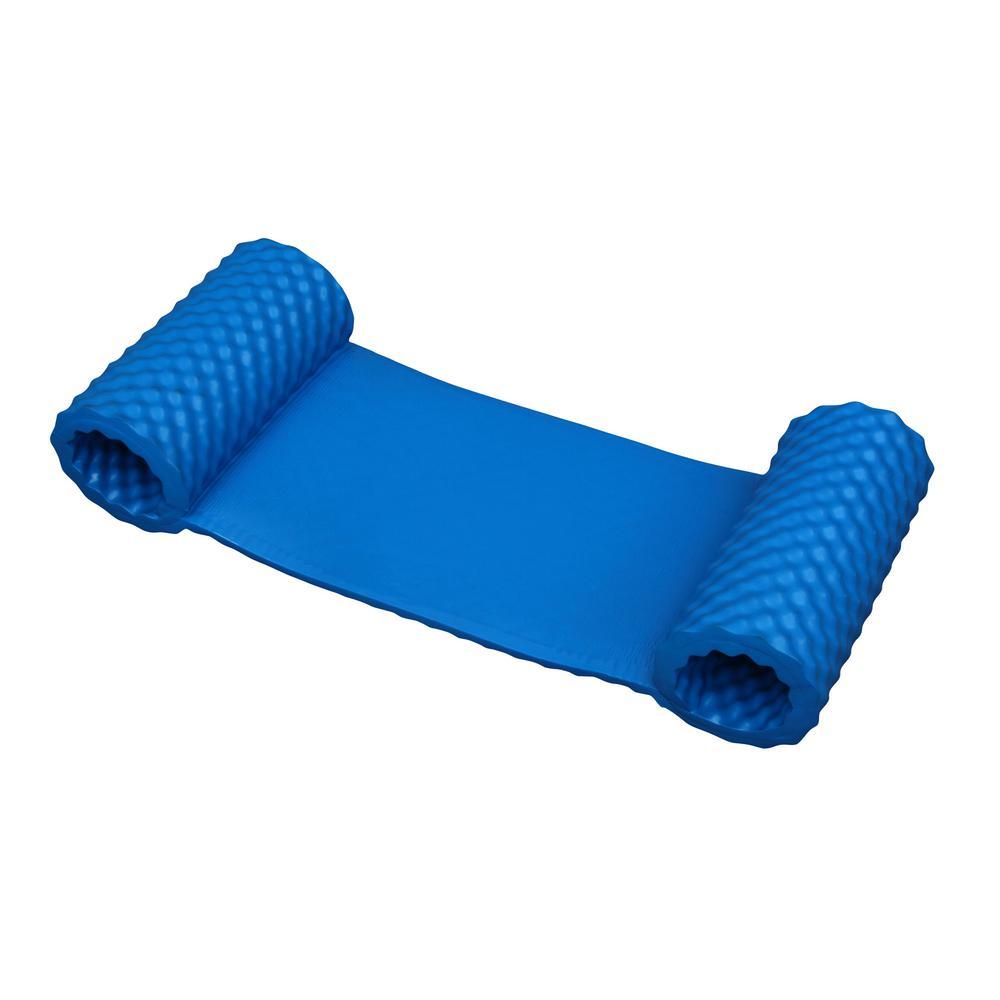 Drift + Escape Blue Luxury Water Hammock for Swimming Pools - NBR Foam Rubber Flotation Device
