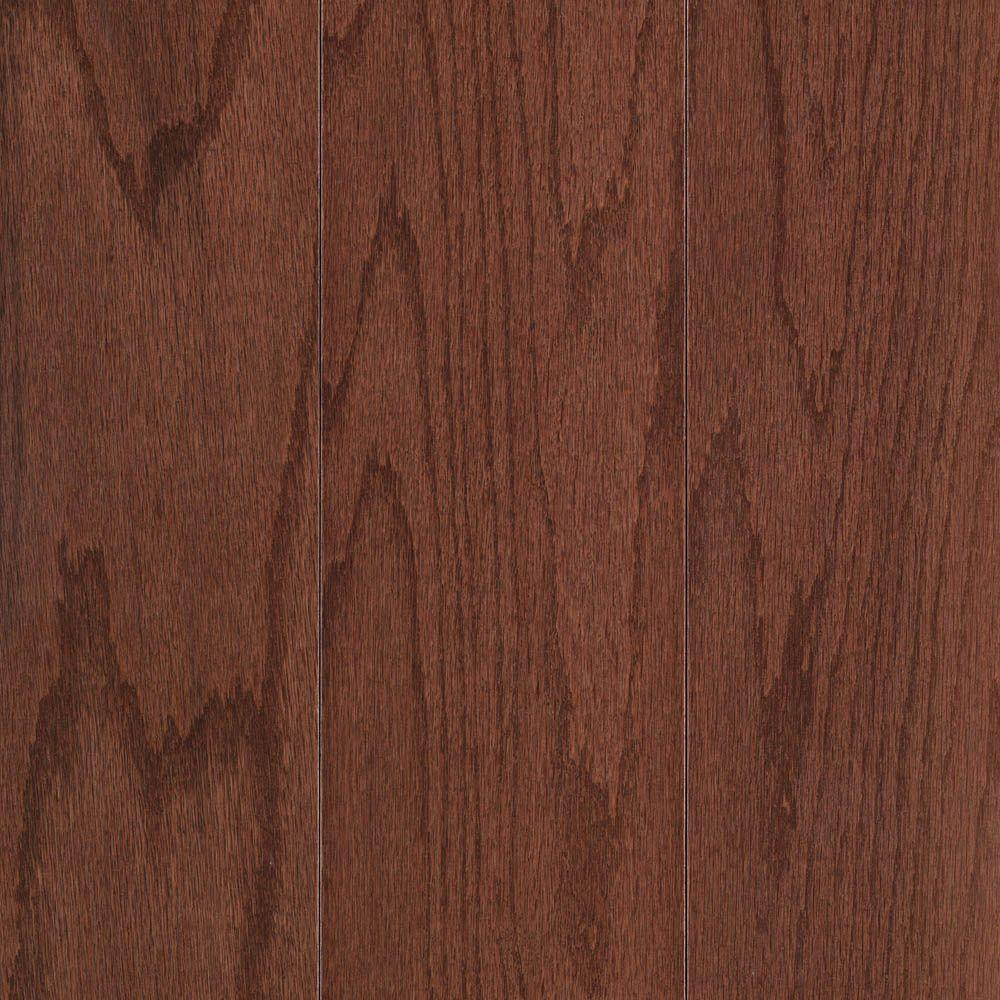 Mohawk Pastoria Oak Cherry 3/8 in. x 3-1/4 in. Wide x Random Length UNICLIC Engineered Hardwood Flooring (29.25 sq. ft. / case)