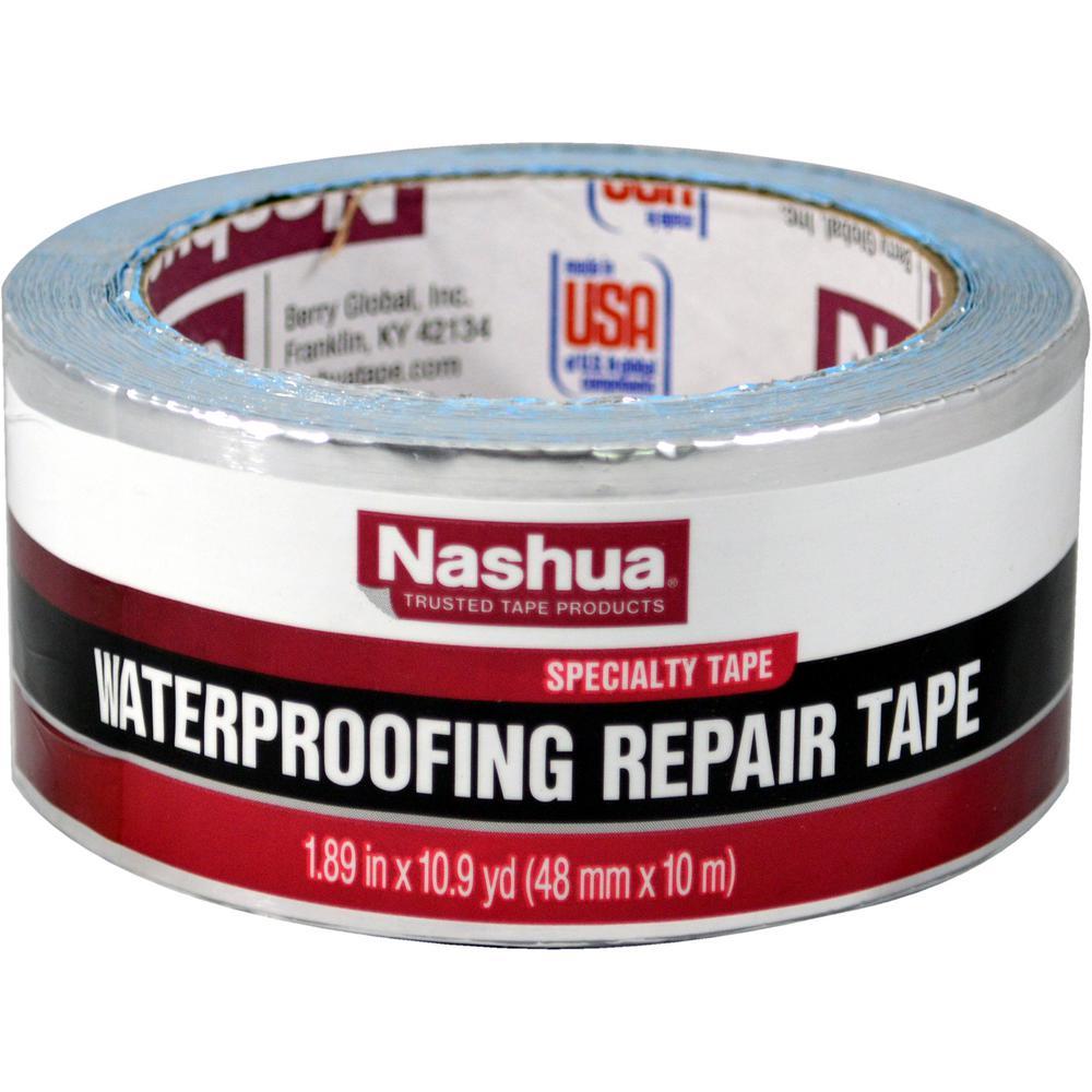 Nashua Tape 1 89 In X 10 9 Yd Waterproofing Repair Tape 1542731 The Home Depot