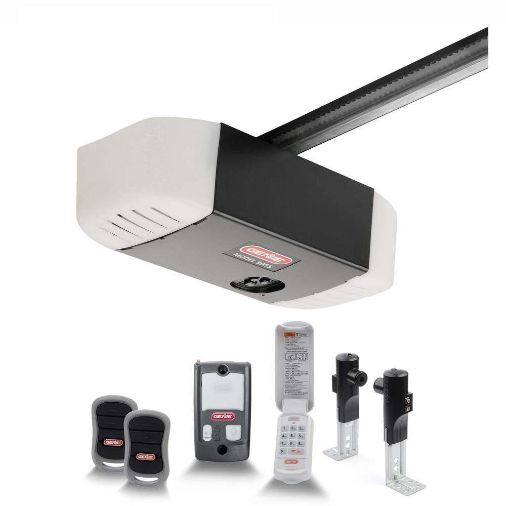 SilentMax 750 3/4 HPc Ultra-Quiet Belt Drive Garage Door Opener with Wireless Keypad
