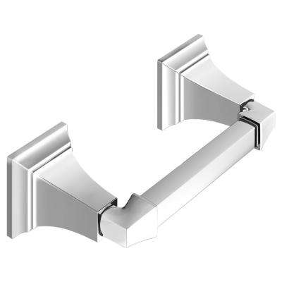 TS Series Double Post Toilet Paper Holder in Chrome