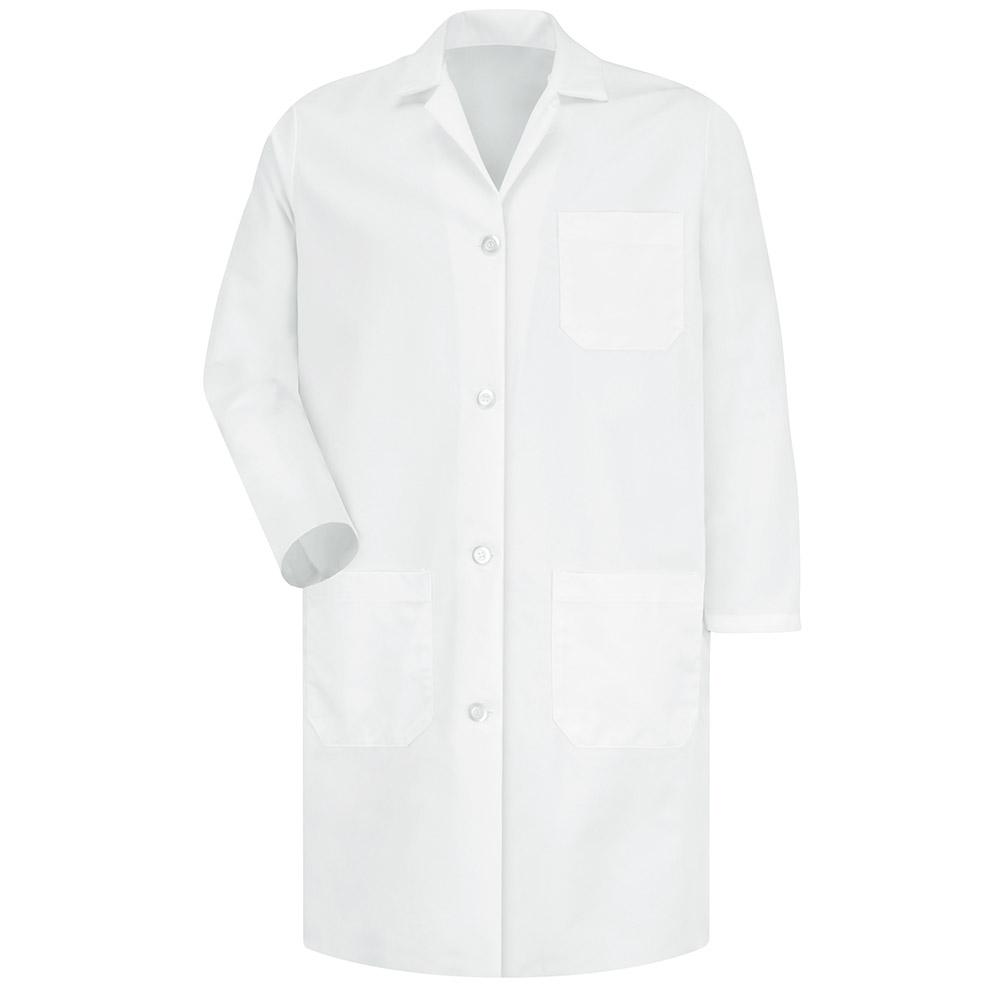 Women's Medium White Staff Coat
