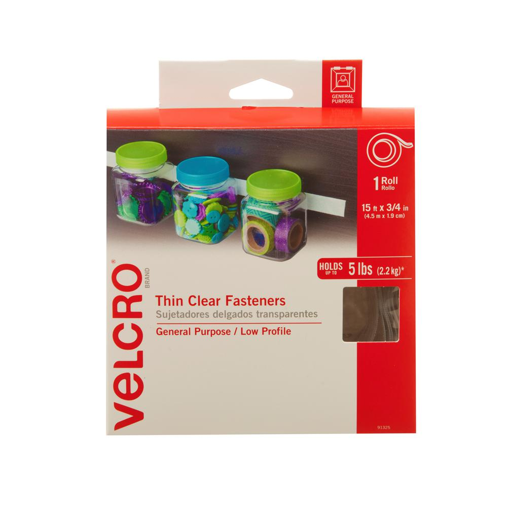VELCRO Brand 15 ft. x 3/4 in. Sticky Back Tape