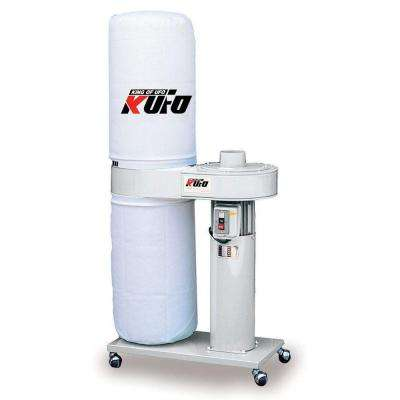 1 HP 696 CFM Vertical Bag Dust Collector