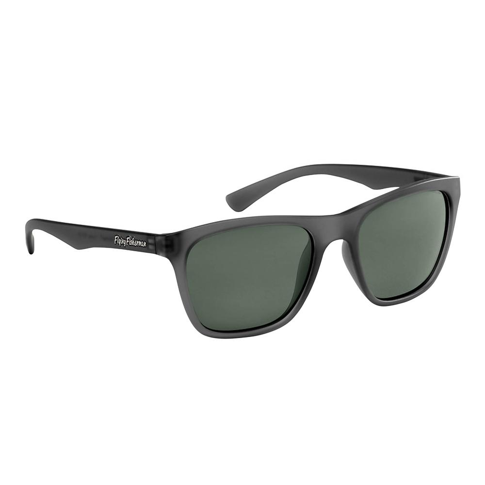 59a112d56e Flying Fisherman Fowey Polarized Sunglasses Granite Frame with Smoke  Lens-7837GS - The Home Depot