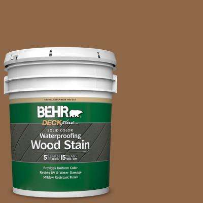 5 gal. #SC-115 Antique Brass Solid Color Waterproofing Exterior Wood Stain