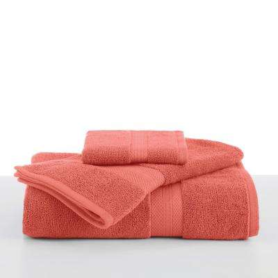 Abundance Cotton Blend  Bath Towel in Peach Cream
