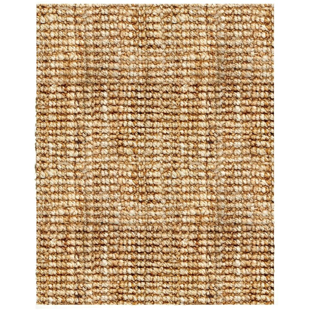Anji Mountain Andes Tan 8 Ft X 10 Ft Jute Area Rug