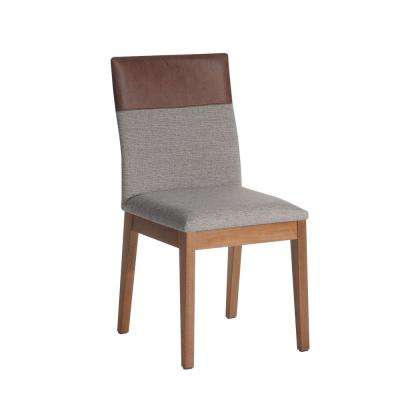 Duke Grey and Brown Dining Chair
