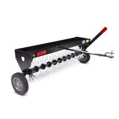 40 in. Tow-Behind Spike Aerator with Transport Wheels