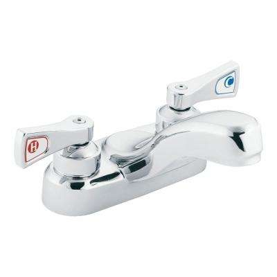 M-Dura 4 in. Centerset 2-Handle Bathroom Faucet in Chrome