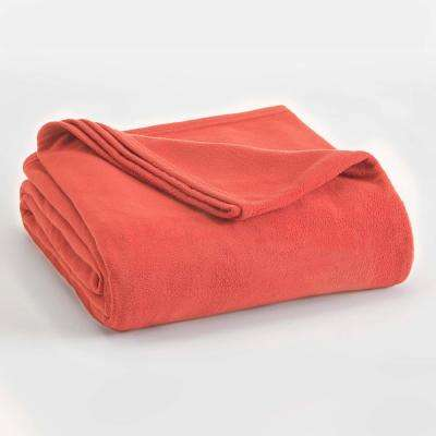 Microfleece Sunset Polyester Twin Blanket