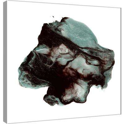15.in x 15.in ''Polished in Juniper Berry'' Printed Canvas Wall Art