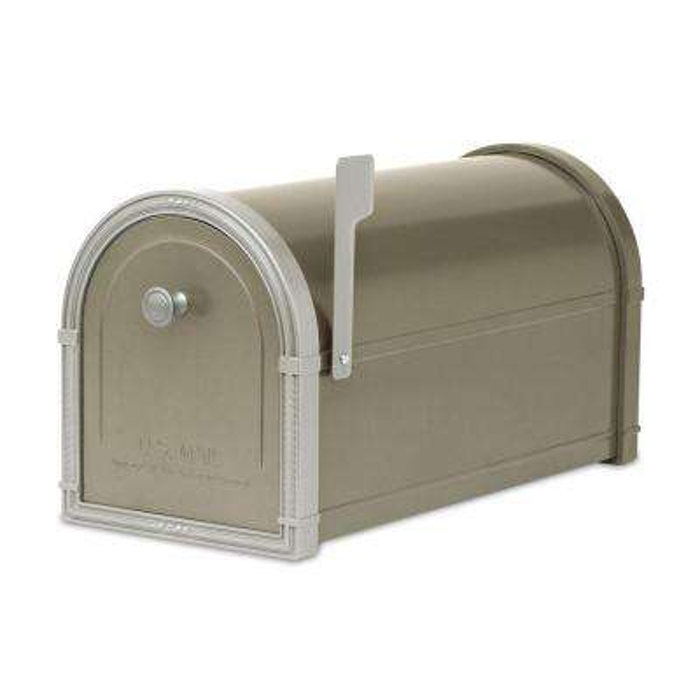 Bellevue Bronze Post-Mount Mailbox