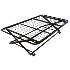 Twin Size Metal Pop Up Trundle Bed